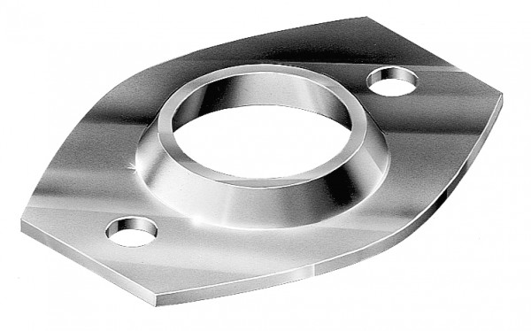 OVAL PIPE FLANGES GALVANISED - OPF25