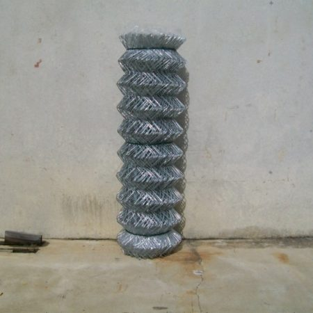 60mm STANDARD GALVANISED CHAINWIRE COMPACTED ROLLS - CWS60KK18C