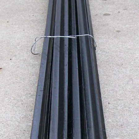 1650 mm BLACK STEEL PICKETS - SP165I