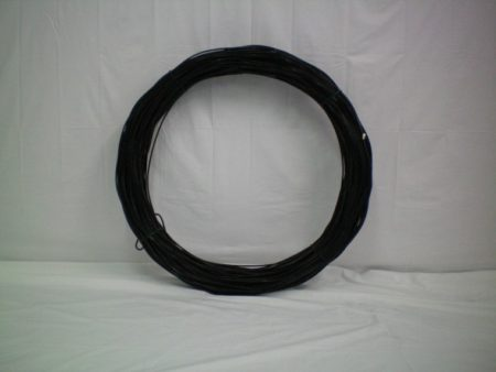 PVC HELICAL LINE WIRE BLACK - LWP4250BH