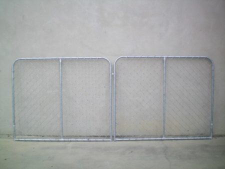 20NB FRAME DOMESTIC CHAINWIRE DOUBLE GATES - GD20183