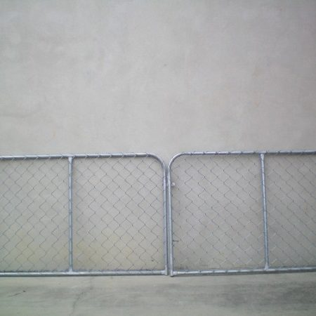25NB FRAME DOMESTIC CHAINWIRE DOUBLE GATES - GD2594