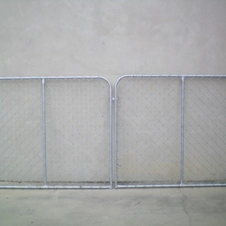 25NB FRAME DOMESTIC CHAINWIRE DOUBLE GATES - GD25124